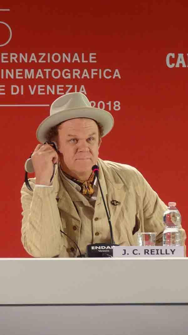 john c. reilly venise 2018 © ecrannoir.fr